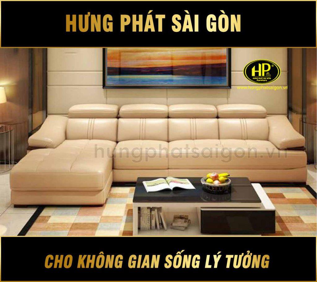 Sofa da sang trọng cao cấp H-9052B