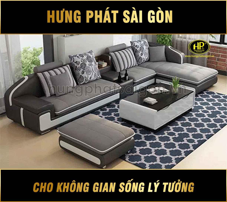 Sofa góc cao cấp H-08