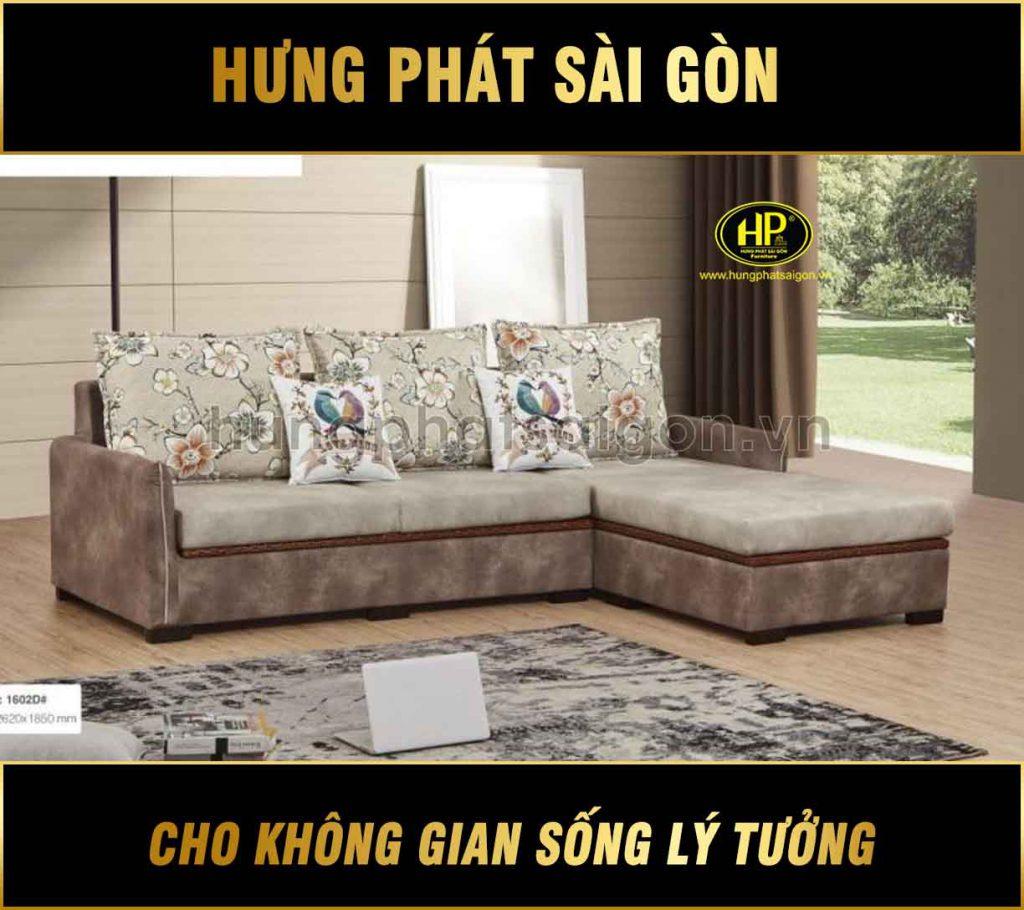 Sofa nhập khẩu mã H-1602D