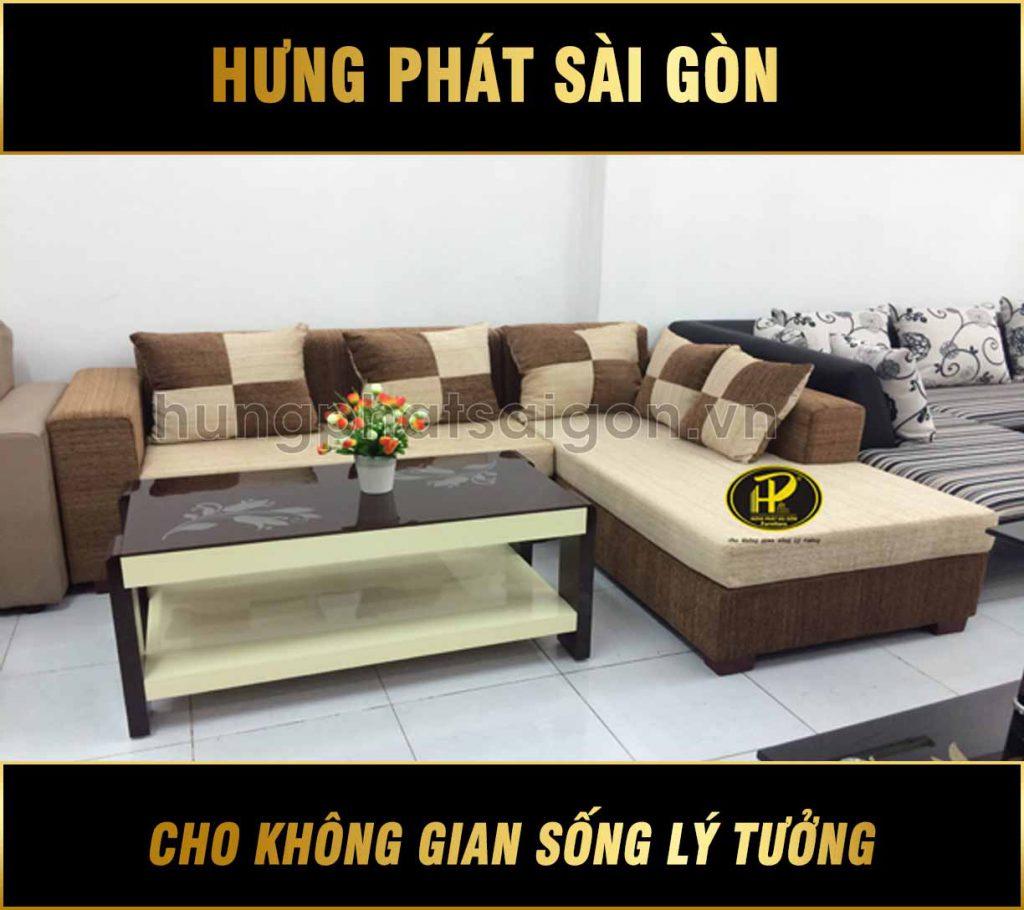 Sofa vải Sài Gòn H-37