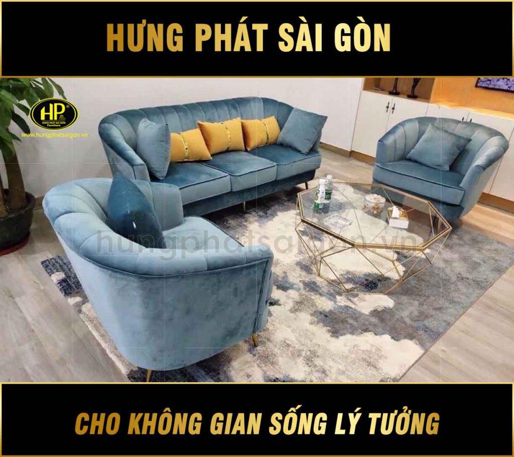 Sofa vải sang trọng HX-246