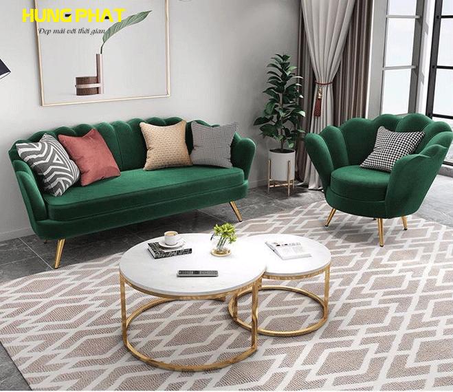 sofa băng phòng khách hiện đại