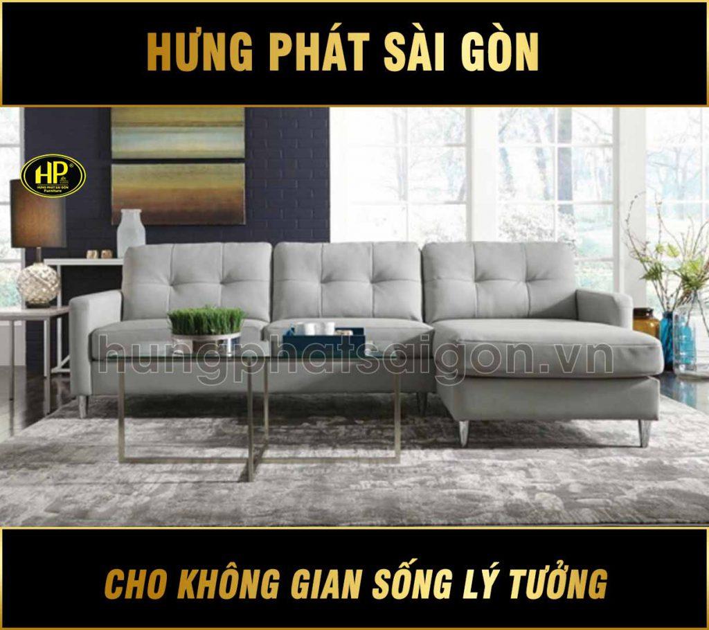 Sofa chất liệu da hàn quốc H-292