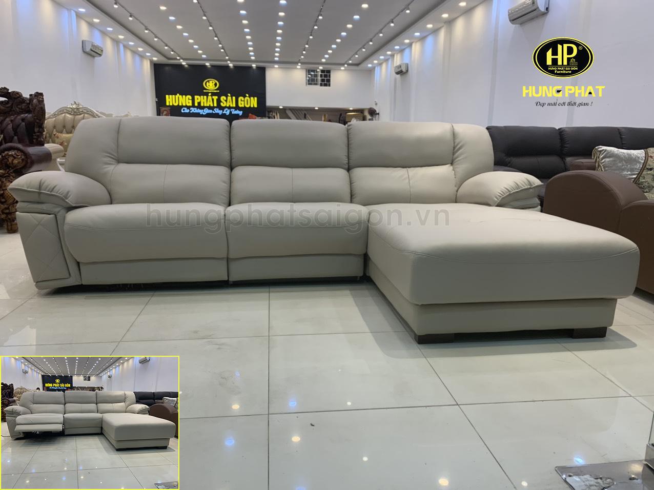 sofa da nang thu gian cao cap H 442