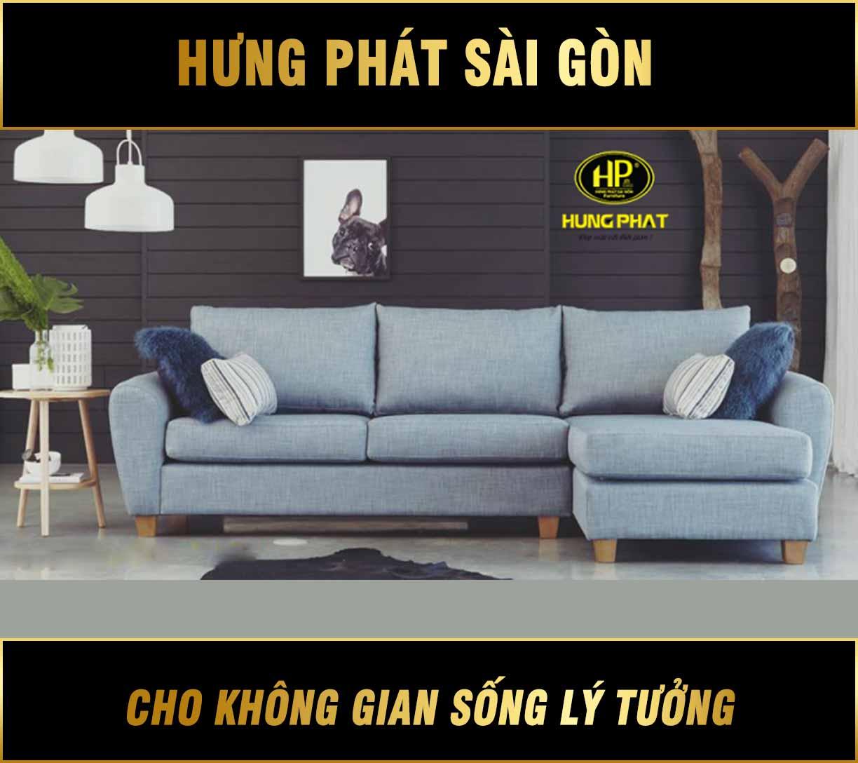 Sofa góc căn hộ chung cư H-267