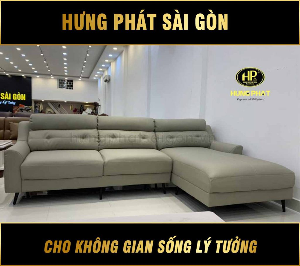 Sofa Góc Da H-418