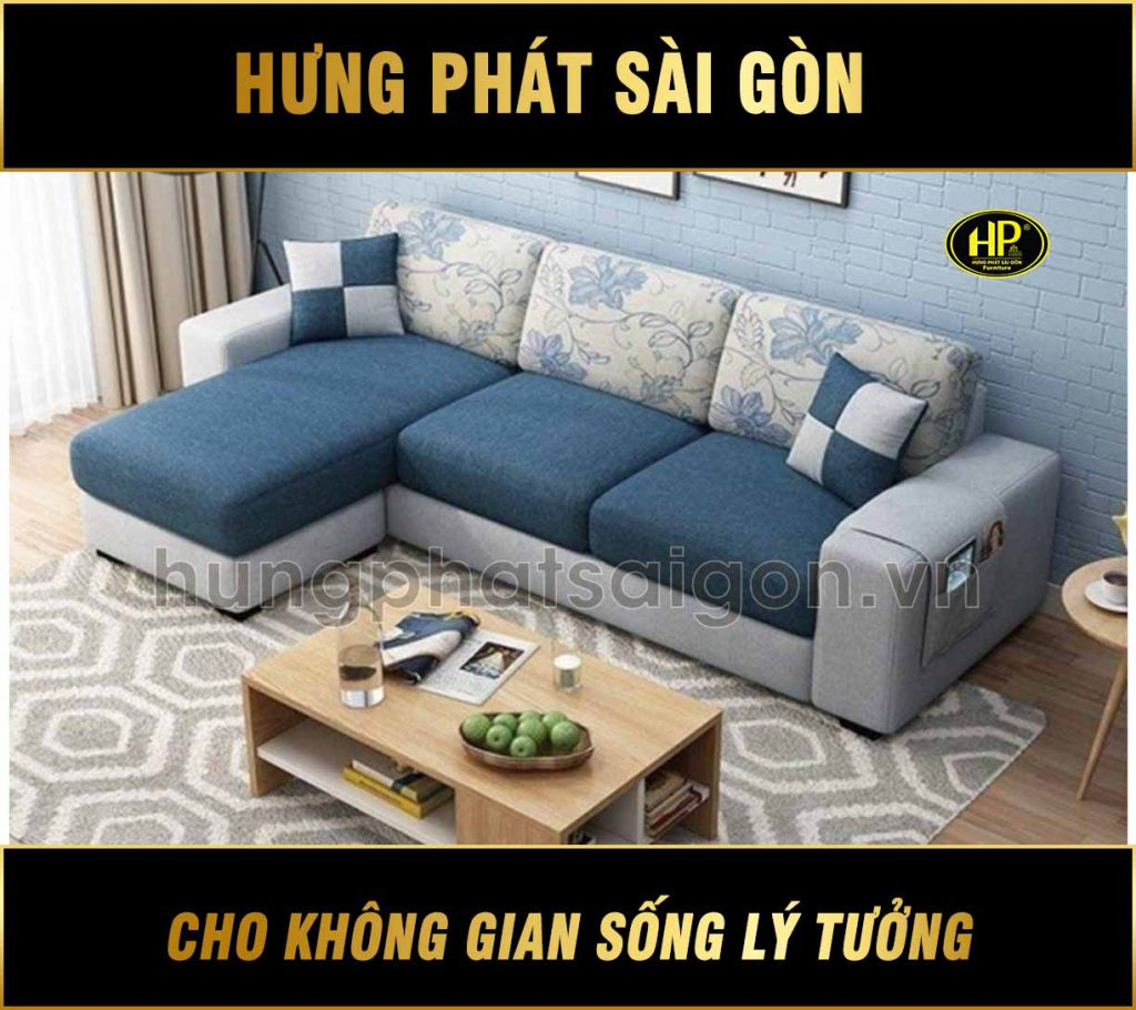 Sofa Góc Vải Hiện Đại H-235