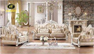 Sofa tân cổ điển 1+2+3 mã H-1640