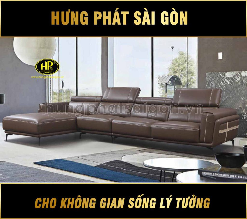 Sofa da cao cấp nhập khẩu H-9205