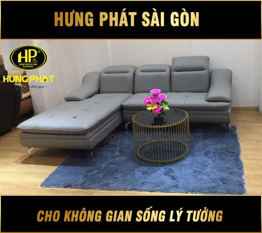 Sofa da góc cao cấp HBD-10