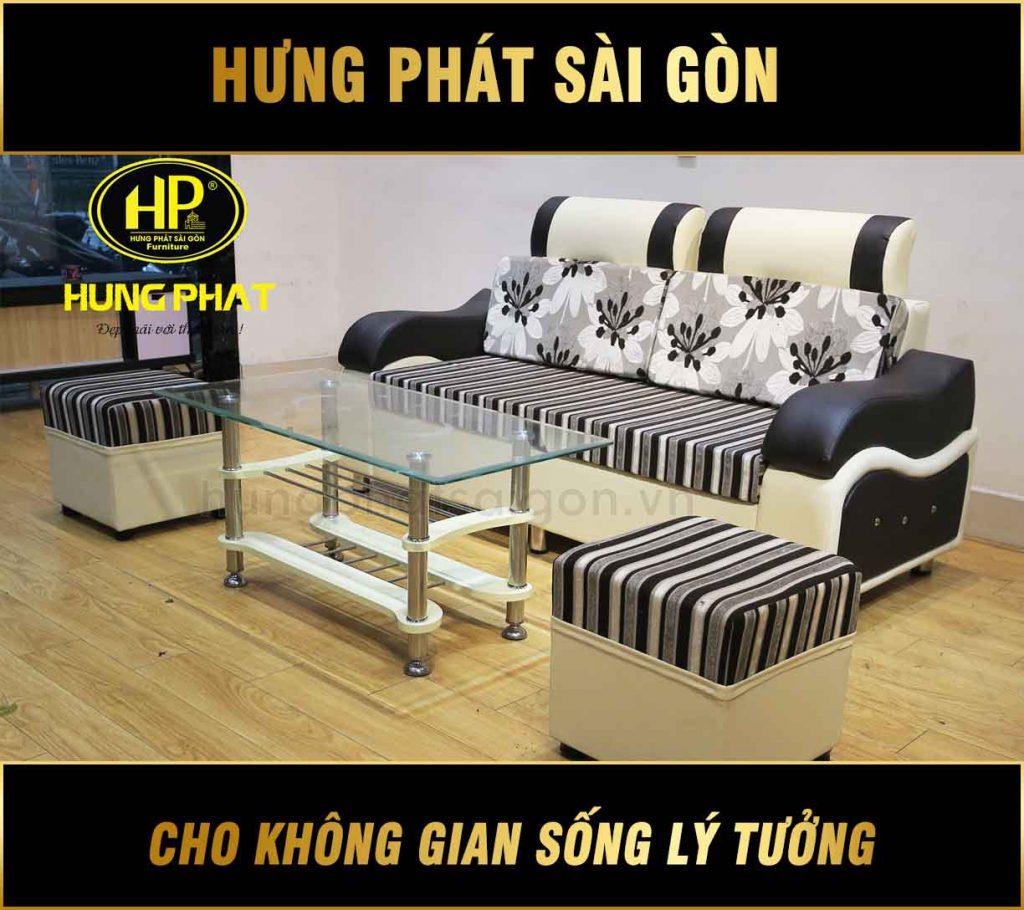 Sofa phòng khách nhỏ giá rẻ H-101