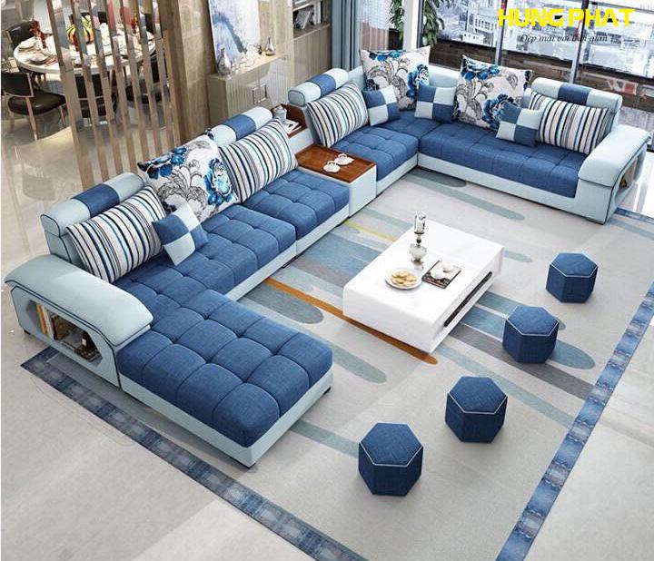 Sofa Góc Kích Thước Lớn H-2520E