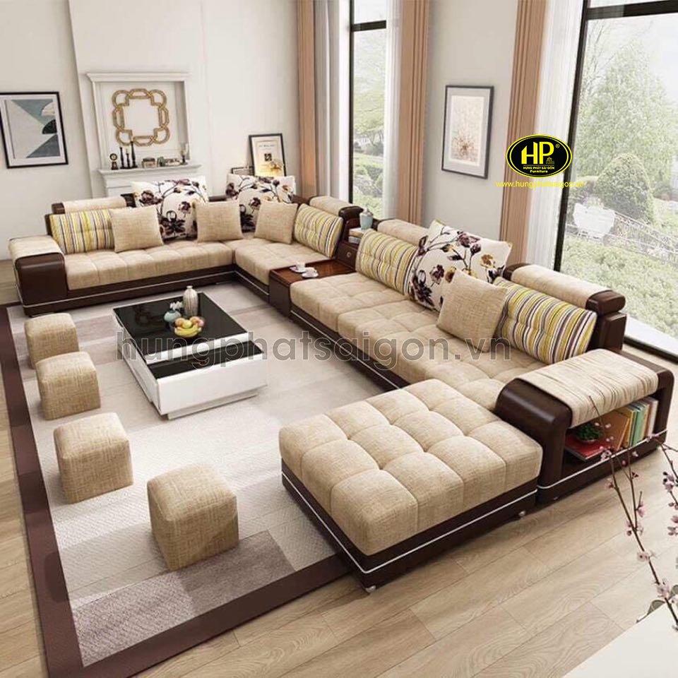 ghế sofa phòng khách cao cấp H-2520a