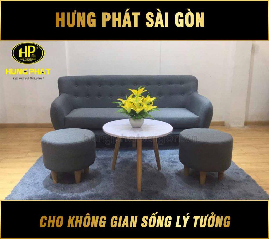 Sofa băng đẹp H-53