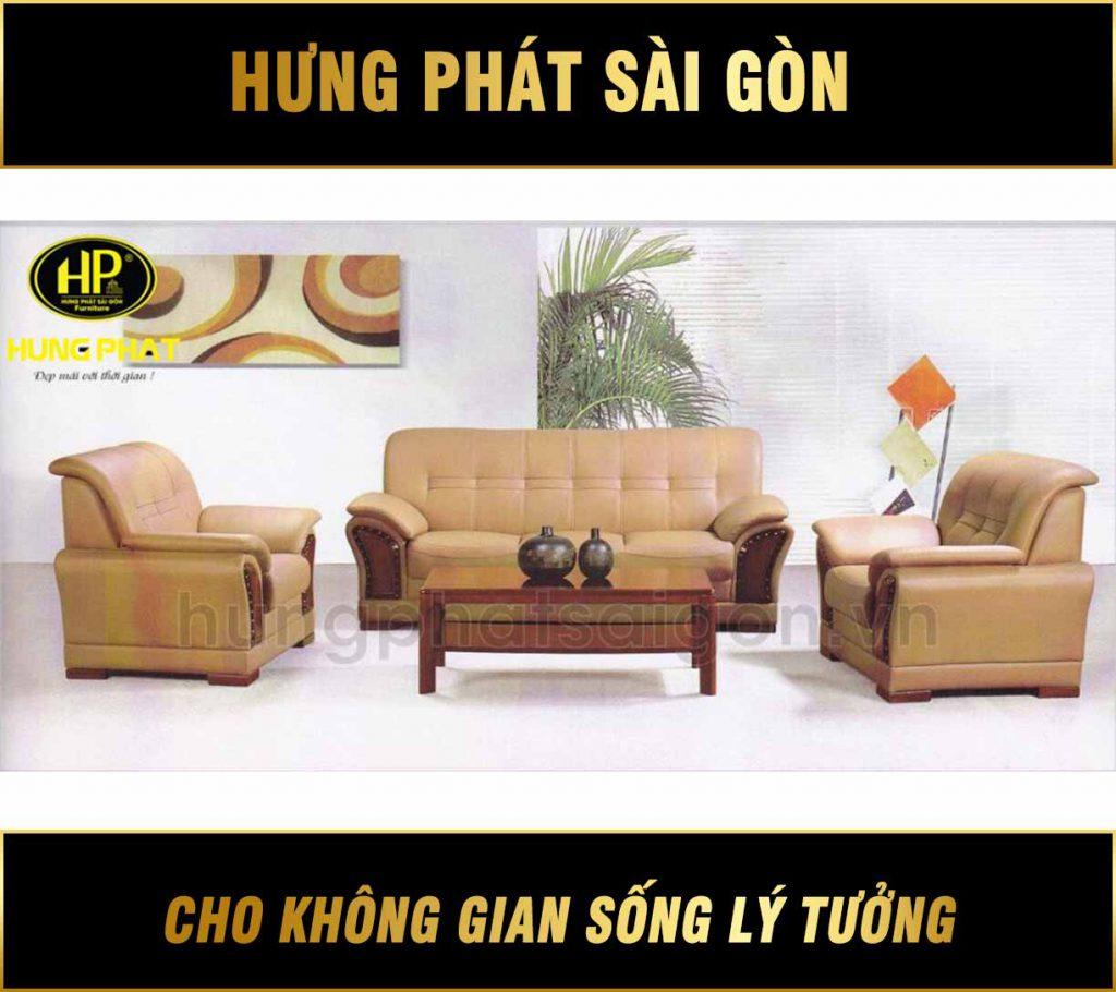 Sofa da văn phòng cao cấp HB-86