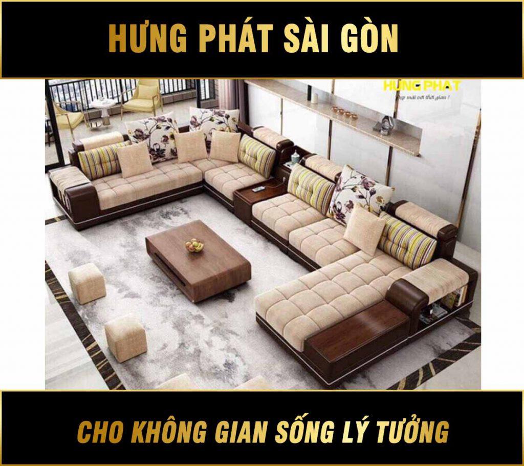 Sofa Góc Kích Thước Lớn H-2520A