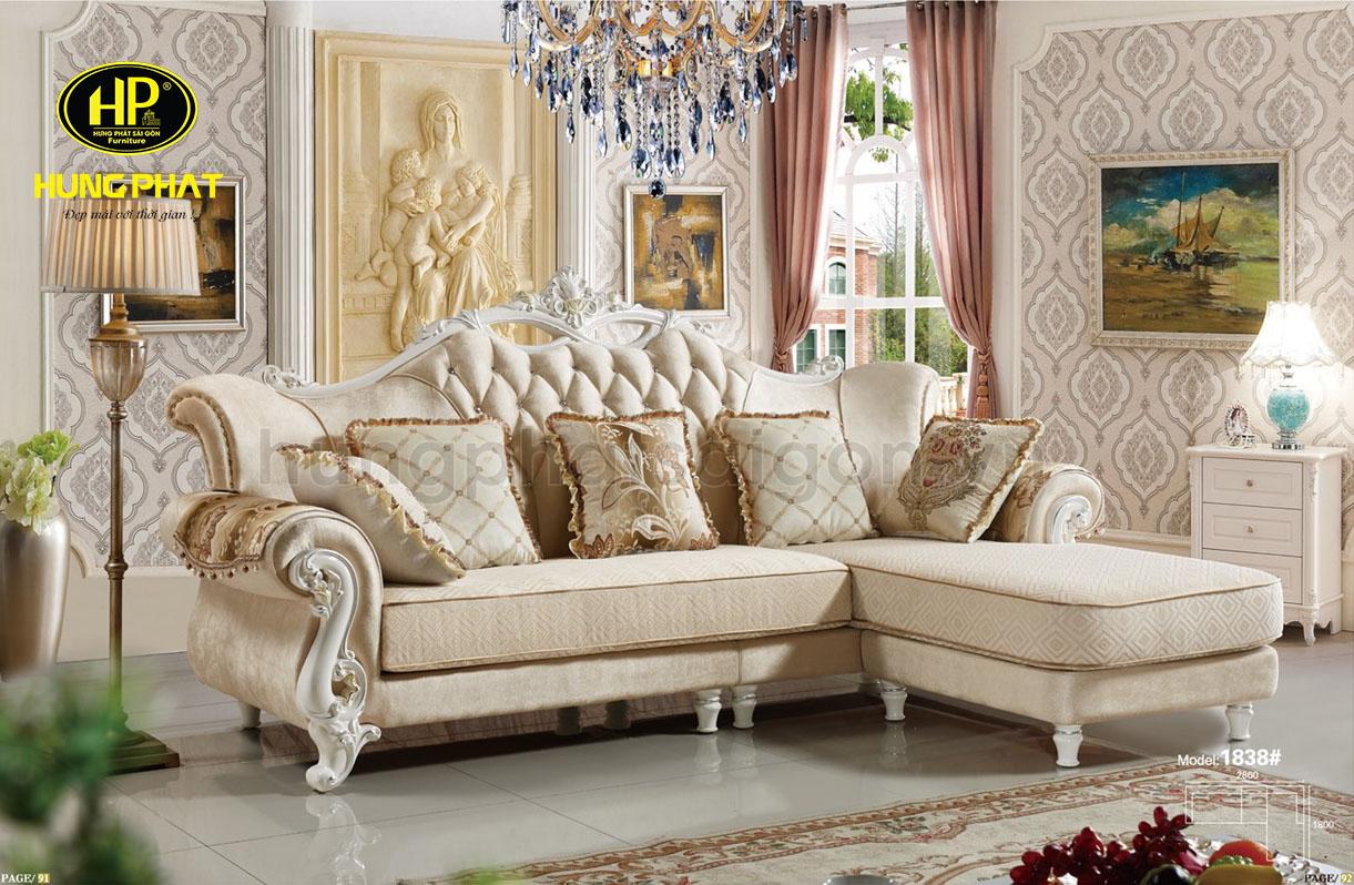 sofa cổ điển chất lượng cao cấp sang trọng uy tín