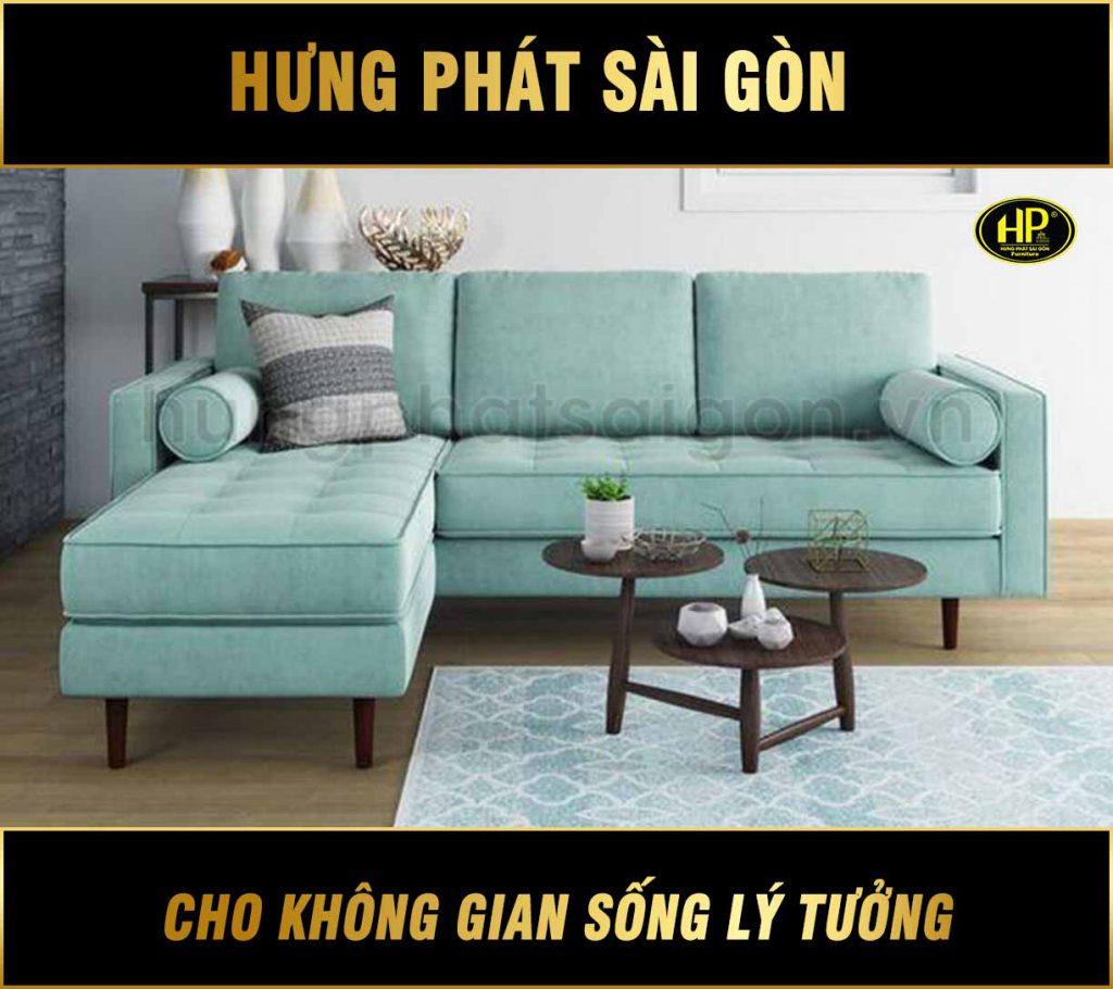 Sofa Vải Hiện Đại Phòng Khách Chung Cư H-803