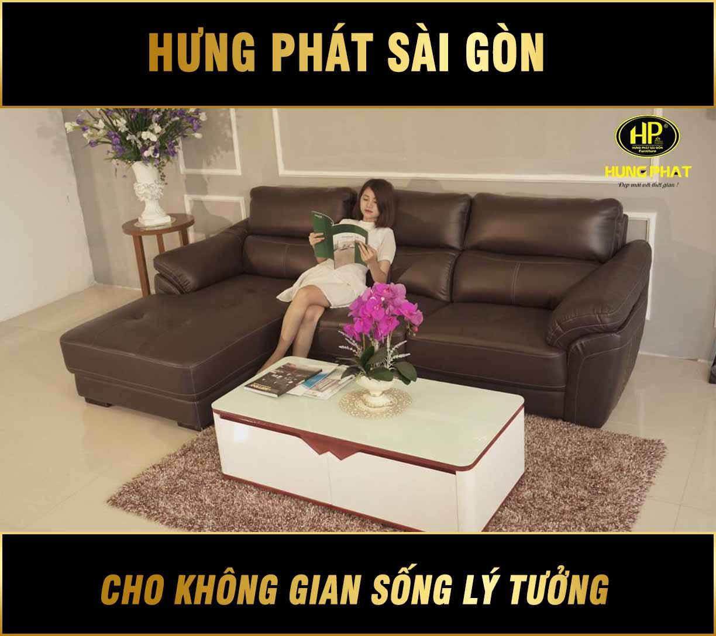 Sofa da cao cấp HV-911