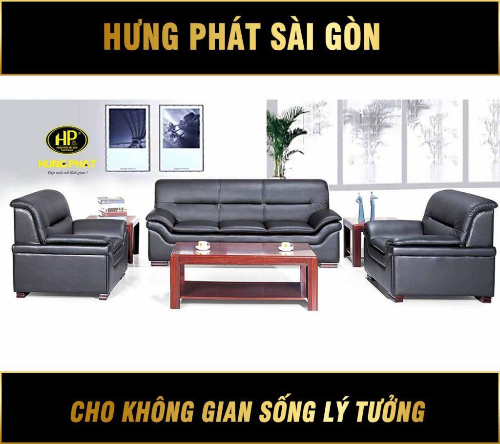 Sofa da văn phòng cao cấp HB-85