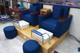 Ghế làm nail đơn giản tại hungphatsaigon.vn