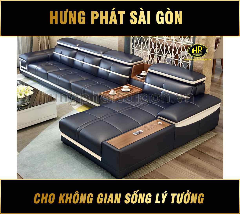 Sofa da cao cấp HD-09