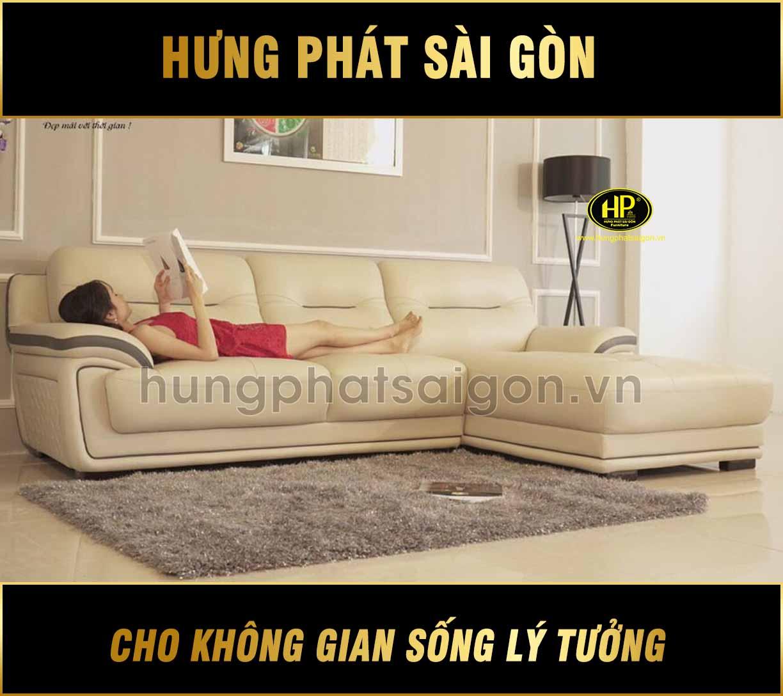 Sofa da cao cấp hiện đại HD-02