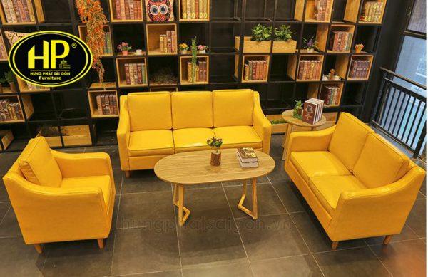 ghế sofa cafe giá rẻ sản xuất tại xưởng hungphatsaigon