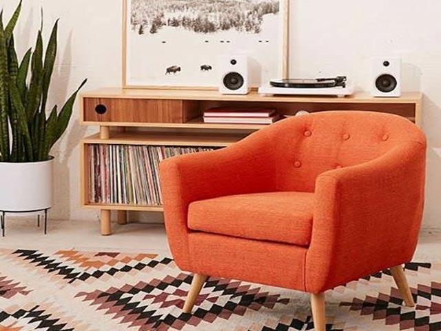Mẫu ghế sofa đơn tròn