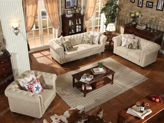 Sofa phòng tổng thống HB-502 tạo ấn tượng mạnh mẽ
