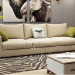 Những mẫu ghế sofa màu kem cho phòng khách tinh tế