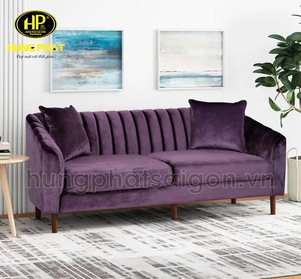 ghế sofa màu tím