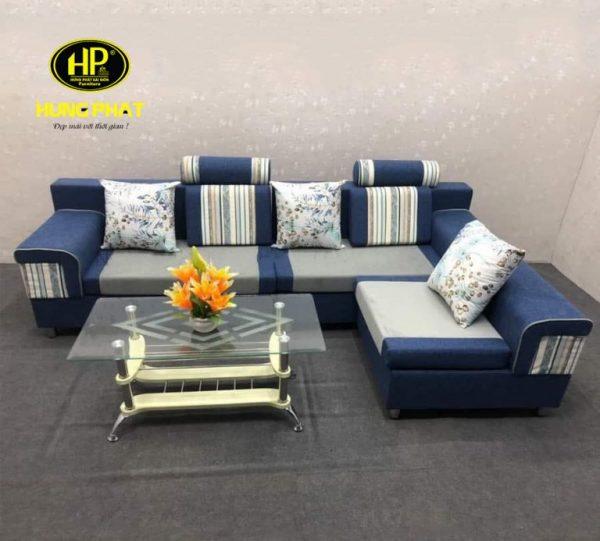 ghế sofa màu xanh sẫm giá rẻ cho phòng khách