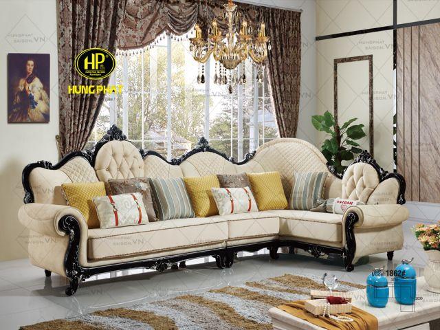 Thiết kế sang trọng của ghế sofa nhập khẩu mã 1862