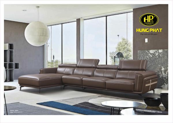 mẫu ghế sofa phòng khách chất liệu da cao cấp