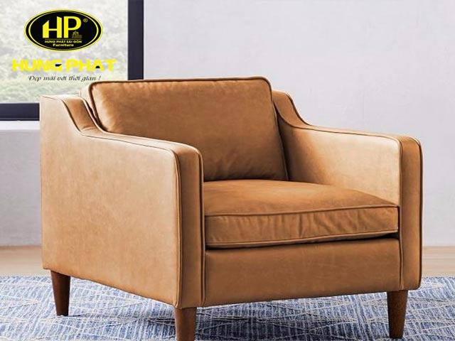 Kích thước sofa đơn cho phòng khách chuẩn