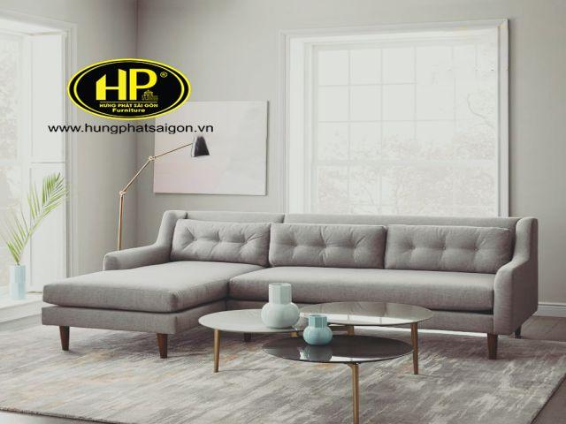 Màu sắc sang trọng của sofa chất liệu vải cao cấp