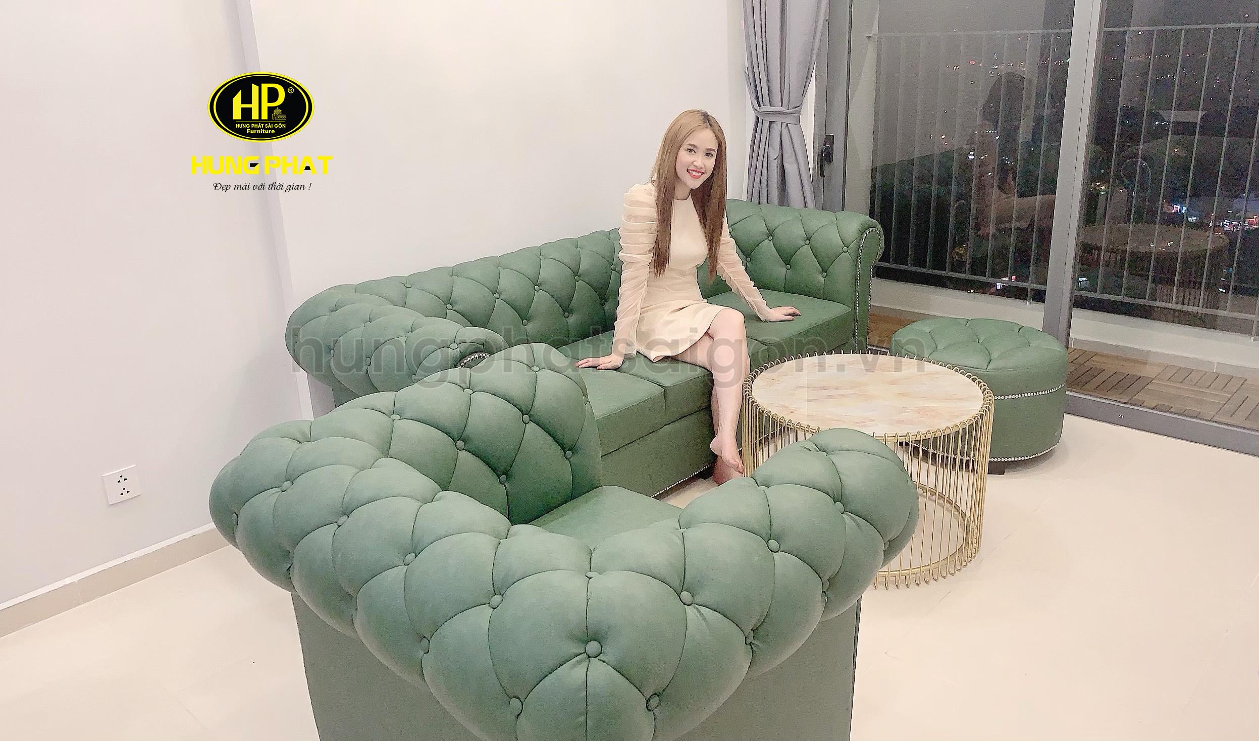 ghế sofa cao cấp sang trọng tại hungphatsaigon.vn