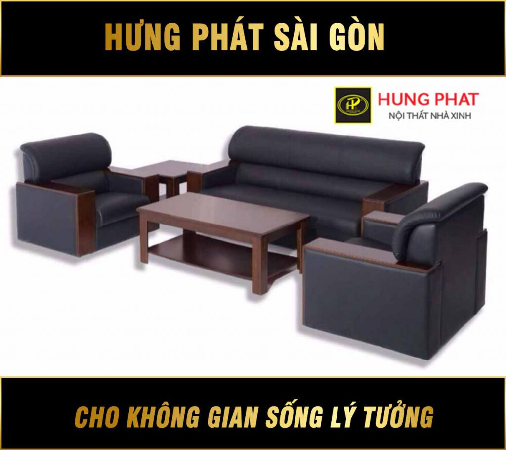Sofa da văn phòng cao cấp H-22