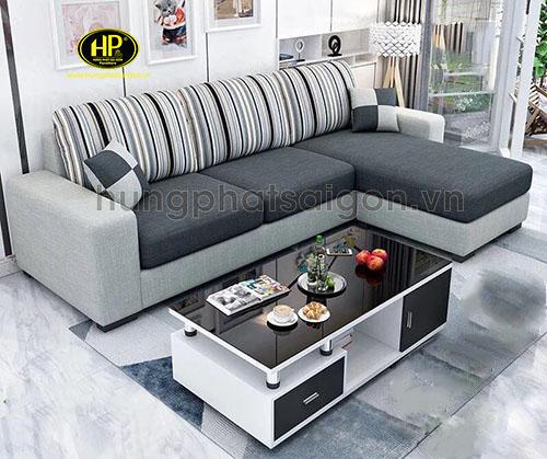 sofa góc vải đẹp cao cấp