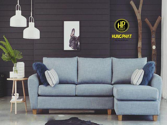 Ghế sofa vải ngày nay đa dạng với nhiều kiểu dáng khác nhau