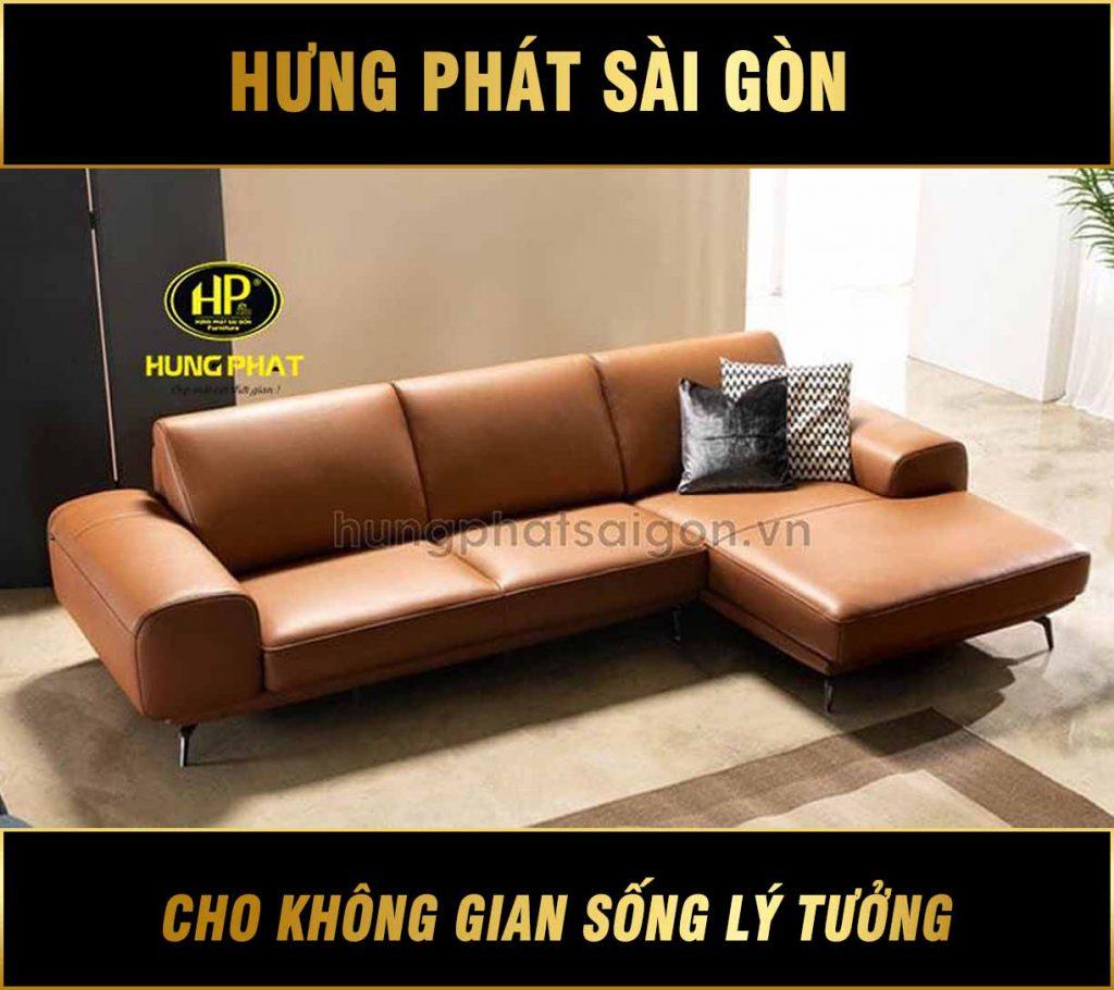 Sofa da mẫu mới hiện đại HD-29
