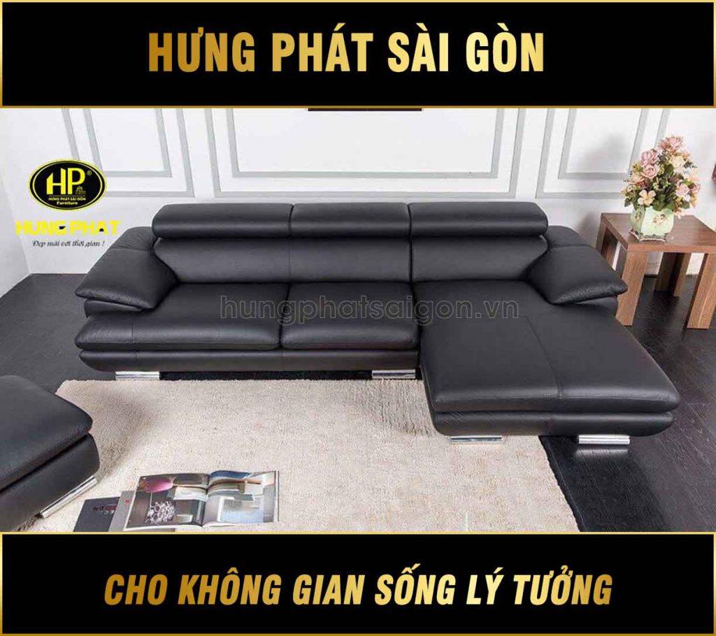 Sofa da nhập khẩu chất lượng H-216B