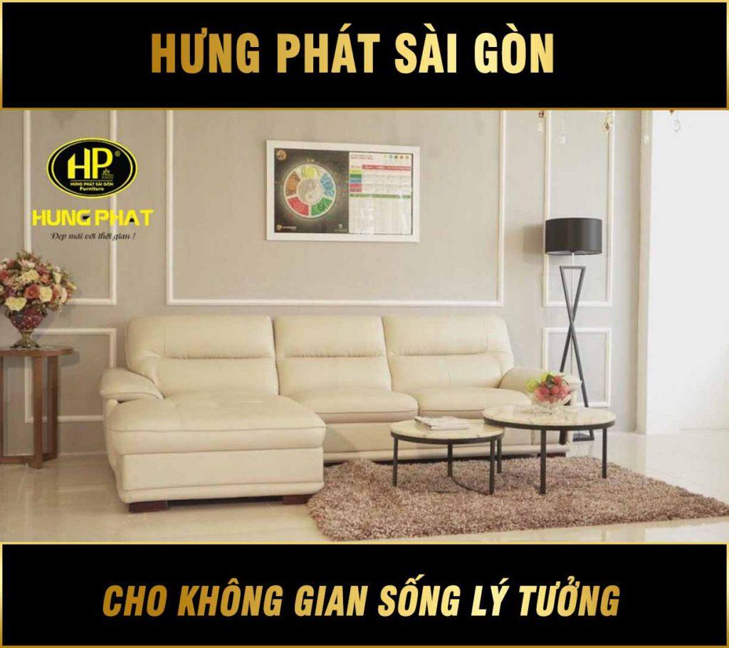 Sofa góc da đẹp HD-10