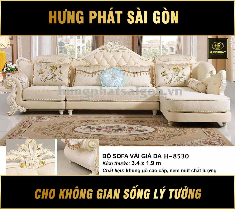 Bộ Sofa tân cổ điển H-8530