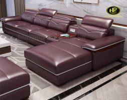 sofa da cao cấp sang trọng uy tín tại tphcm