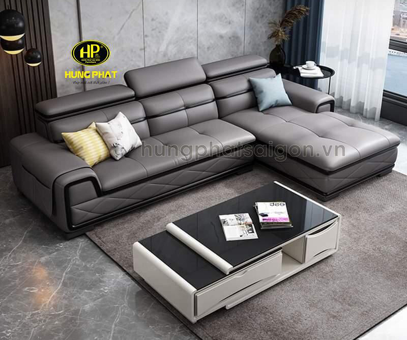 Sofa da cao cấp uy tín HD-23
