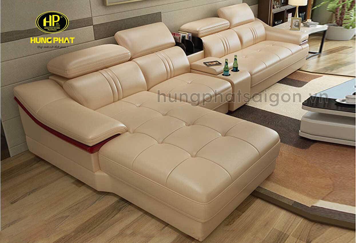 Sofa da nhập khẩu hiện đại HD-17