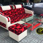 Tổng hợp 5 bộ ghế sofa phòng khách màu đỏ đẹp ấn tượng