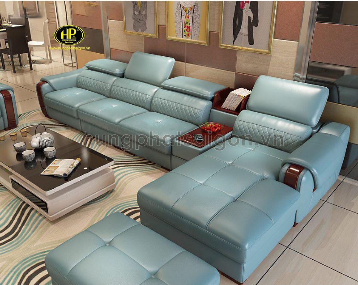 sofa da cao cấp uy tín chất lượng